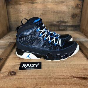 Air Jordan 9 Retro Black Photo Blue